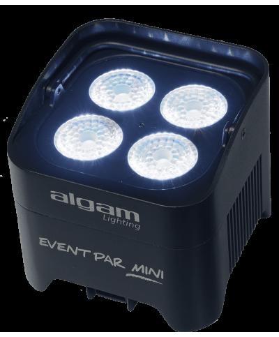 Projecteur à LED sur batterie 4 LED 10W RGBW IR LAL EVENTPAR-MINI Algam Lighting