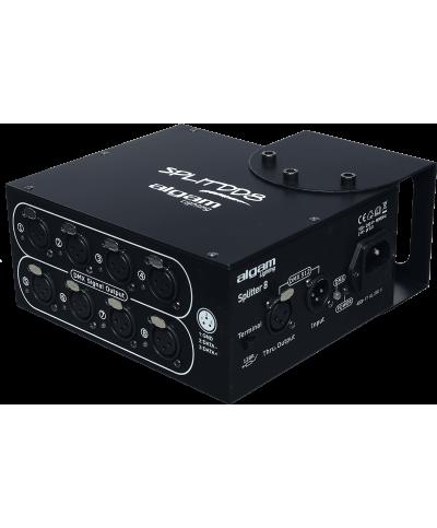 SPLITTERS DMX Distributeur DMX 8 canaux LAL SPLITDD8 Algam Lighting