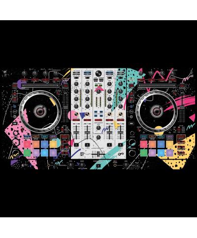 Dj Skins Pioneer DJ DDJ SX 3 SKIN80's MIZUCAT Skin
