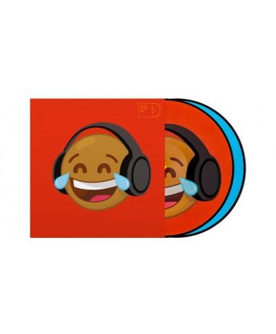 Vinyles de Contrôle SERATO Emoji Picture Disc Thinking Crying 12P la paire