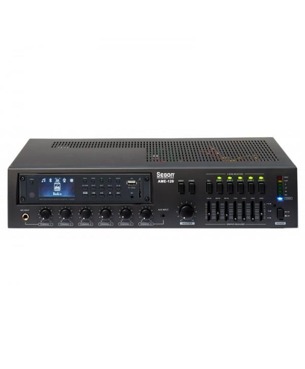 Ampli RONDSON AM 240-2 240W Ligne 100V USB Tuner Bluetooth
