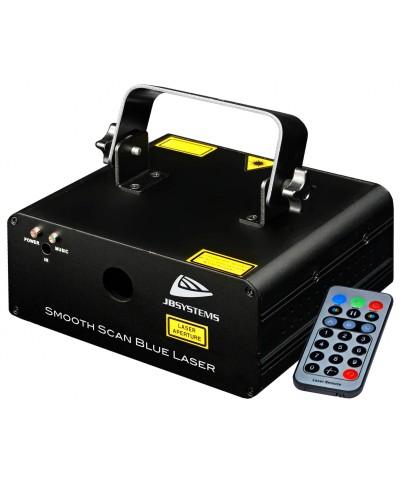 Laser SMOOTH SCAN-BLUE Effet laser 400mW bleu