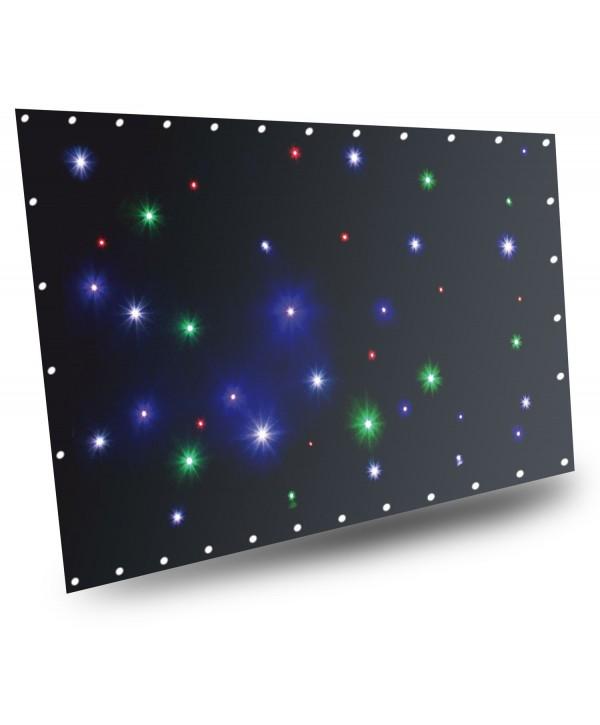SparkleWall Rideau à LEDs 36 x RGBW 1x2m avec contrôleur