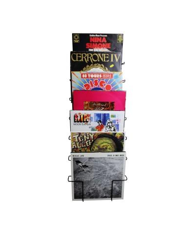 Enova hifi SUPPORT MURAL 60 VINYLES NOIR - VWM 60 BL Support Mural Vinyle Noir