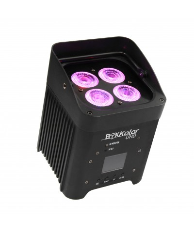 STARWAY BoxKolor UHD en Flight-Case BOXKOLOR UHD 4X12W RVBWA+UV
