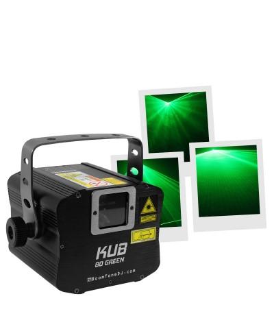 BoomTone DJ KUB 80 Green Laser Vert