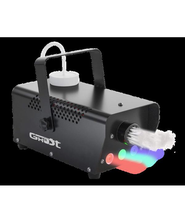 Machine à Fumée PUFFY 400 Ghost 400W avec 3 LEDs 3W RGB