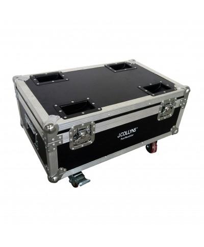 J.Collyns PACK 6 MOVECOLOR WH sur batterie avec Flight Case