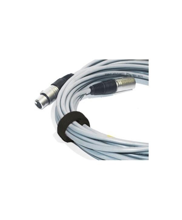 Attache Câble Velcro Noir 30cm pièces