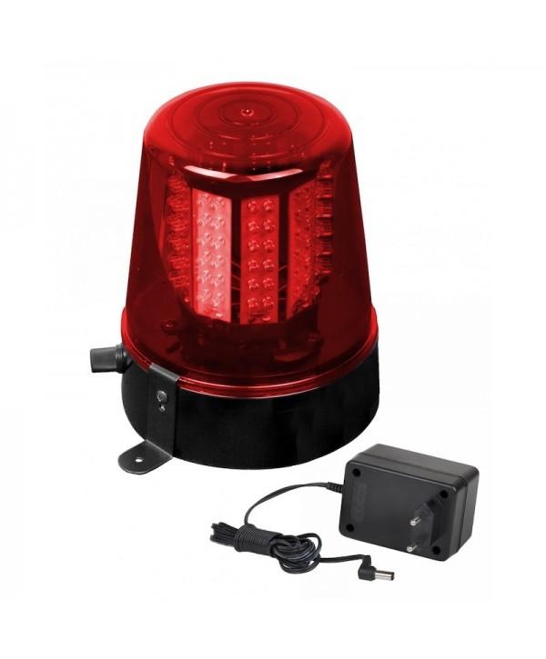 Gyrophare LED POLICE LIGHT RED JB SYSTEMS