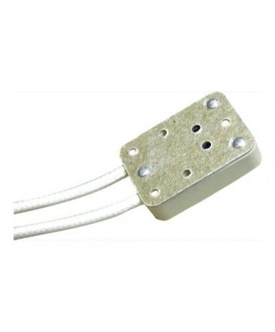 Douille GX5,3 Rectangulaire câble sur le côté 13cm