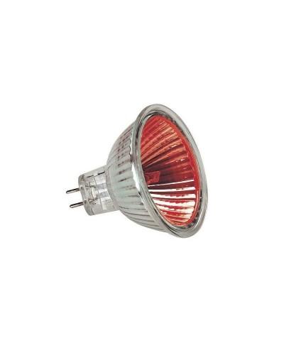 Lampe DICHRO MR16 12V 20W GU5.3 Rouge