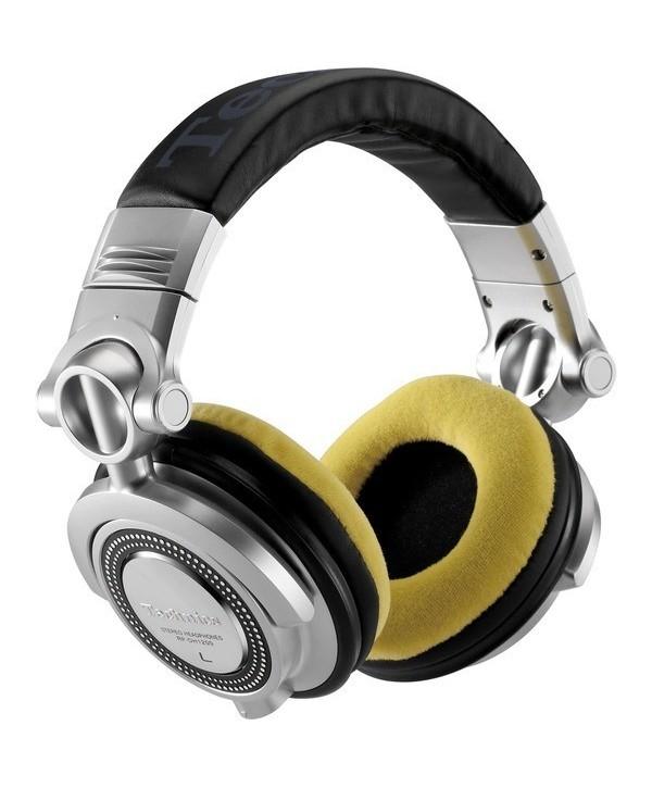 Coussinets d'oreilles Casque RP-DH1200 Velour YELLOW ZOMO La Paire