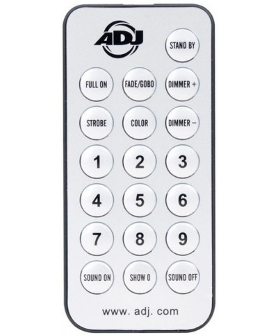 Télécommande UC IR compatible Marque ADJ