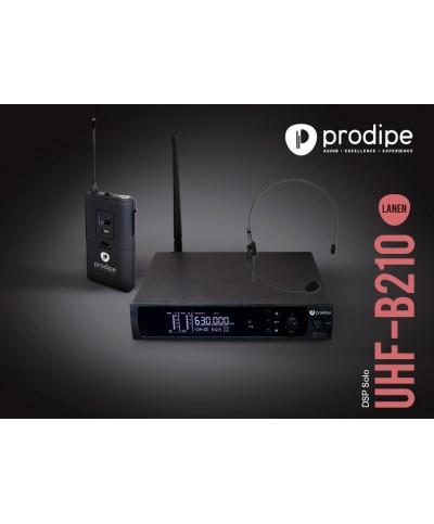 Système Serre Tête UHF B210 DSP Headset Solo PRODIPE