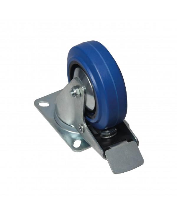 Roue flight case 3.5 pouces avec frein Power Acoustics ROUE 3.5 BRAKE