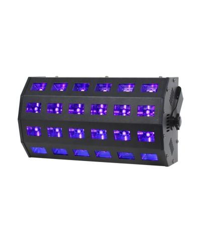 Panneau 24 LEDs UV de 3W Power Lighting UV PANEL 24X3W CURV