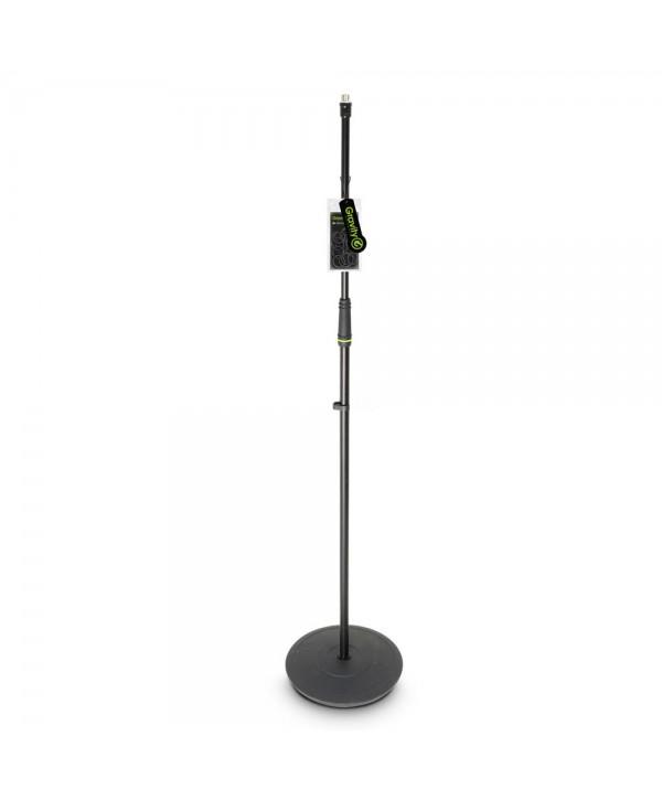 Pied Micro Droit à Base Ronde noir Gravity MS 23 160cm