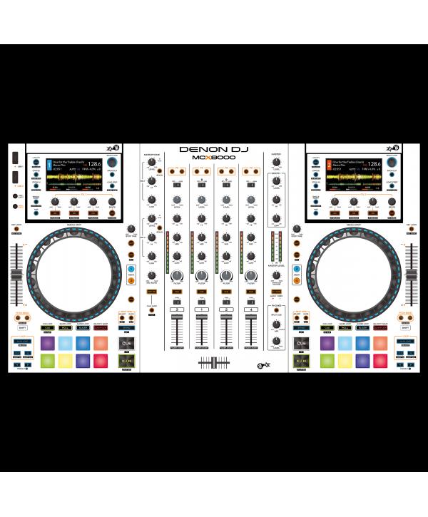 Dj Skins Denon DJ MCX 8000 WHITE aka STAR TROOPER Skin