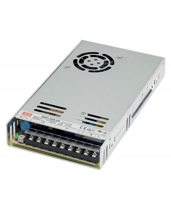 Alimentation LED RSP-320-24 24VDC 320W Max IP20 3 Sorties