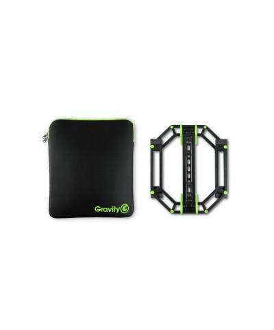 Support pour PC Laptop GRAVITY LTS 01 B SET 1 avec Housse Néoprène