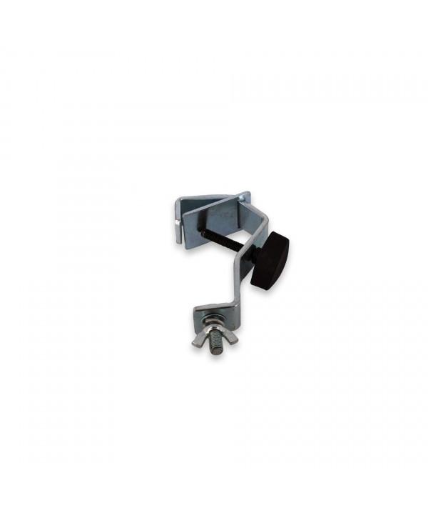 Crochet Acier pour Tube 30 à 50mm DRA 009 avec contre plaque Power Lighting
