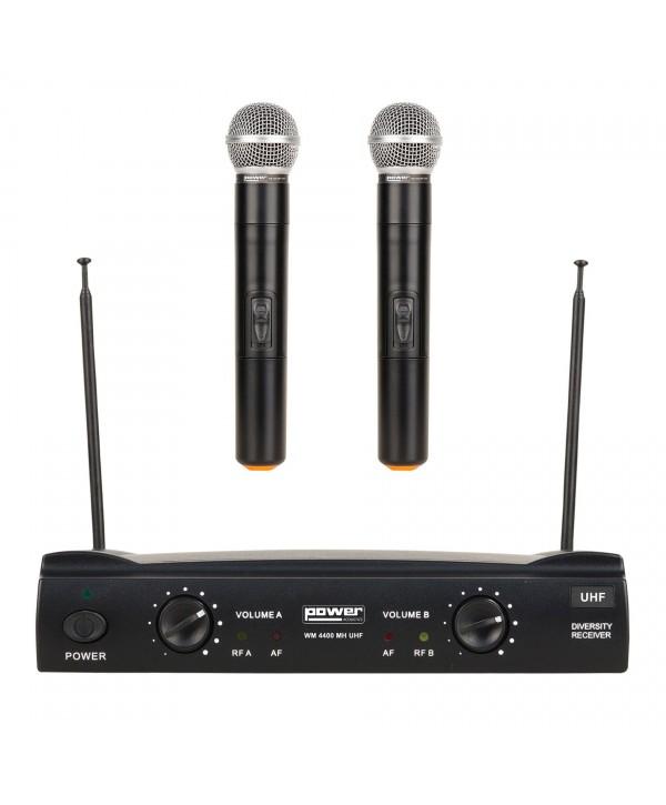 Double Micros Main WM 4400 Power Acoustics WM UHF GR8