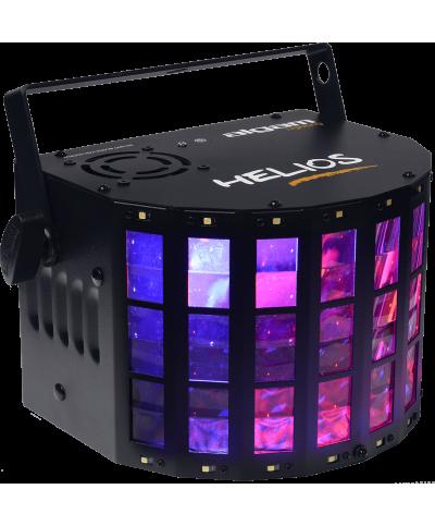 Effet Led Helios Algam Lighting Projecteur Derby + Stroboscope Dynamique