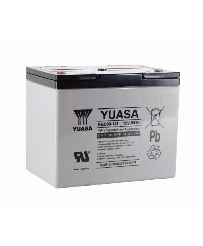 Batterie YUASA au Plomb Cyclage REC 80-12  12V 80Ah