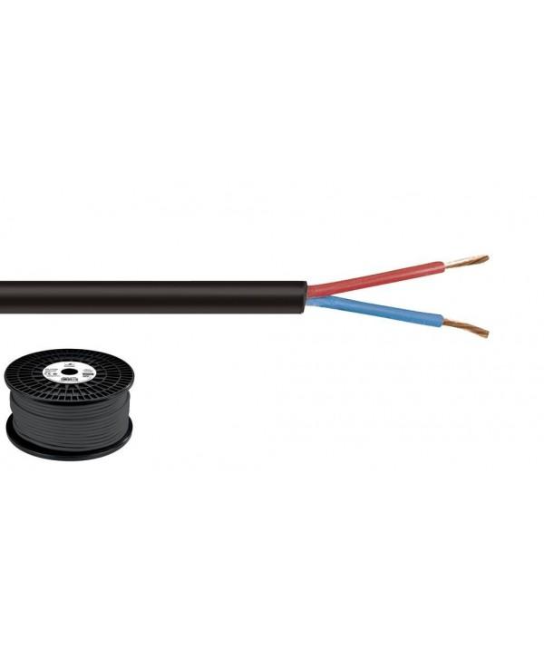 Câble HP 2x1,5mm 100m - 5mm2 Ligne 100V