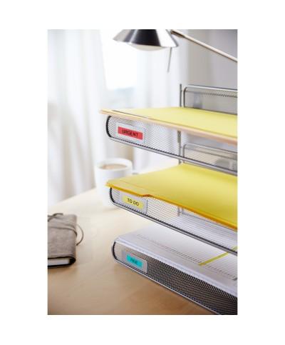 Dymo D1 Ruban   19 mm x 7 m noir sur jaune 45808 Accessoires Étiqueteuse