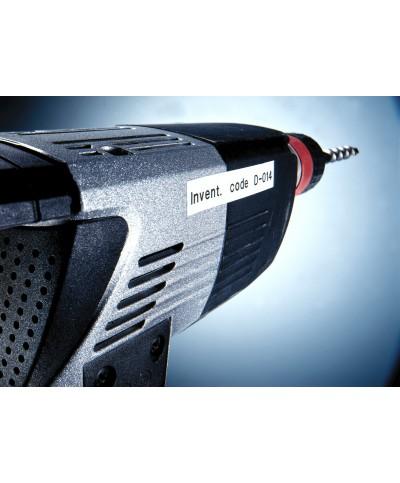 Dymo D1 Ruban   19 mm x 7 m noir sur blanc 45803 Accessoires Étiqueteuse