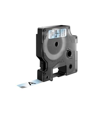 Dymo D1 Ruban   12 mm x 7 m noir sur transparent 45010 Accessoires Étiqueteuse