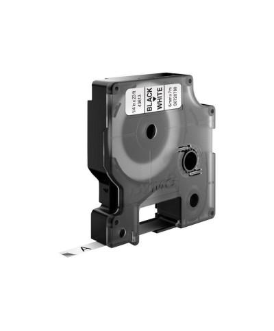 Dymo D1 Ruban   6 mm x 7 m noir sur blanc 43613 Accessoires Étiqueteuse