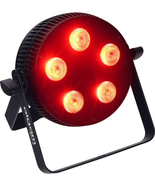 Projecteur à LED Slim 5x10W 4 en 1 RGBW Algam Lighting