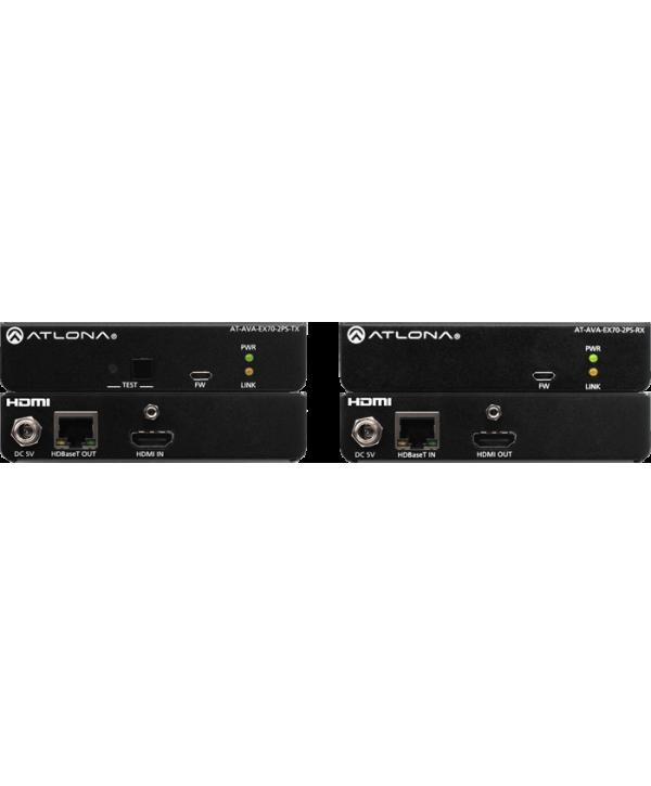 Boitier d'extension HDMI RJ45 Cat5 ATLONA AT AVA EX70 2PS Son et Vidéo UHD 4K