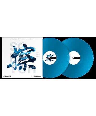 Vinyle de Contrôle REKORDBOX DJ PIONEER RB VD2 CB Bleu La Paire