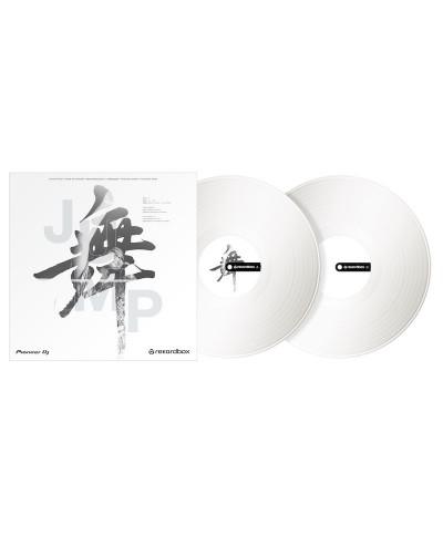 Vinyle de Contrôle REKORDBOX DJ PIONEER RB VD2 W Blanc La Paire