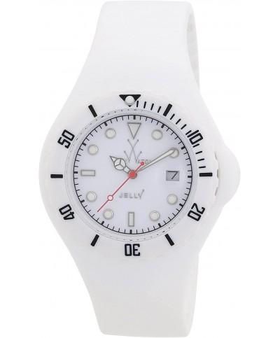 Montre TOYWASH JY01WH bracelet souple sylicone Blanc