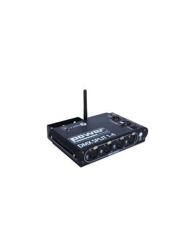 SPLITTER DMX 4 CANAUX WIFI Power Lighting DMX SPLIT 1-4 WIFI
