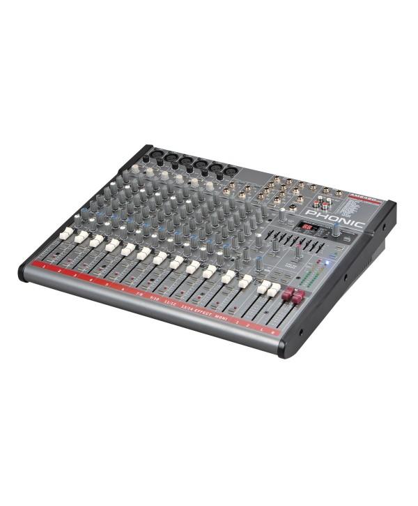 Phonic AM 642D USB Console de Mixage Analogique 6voies