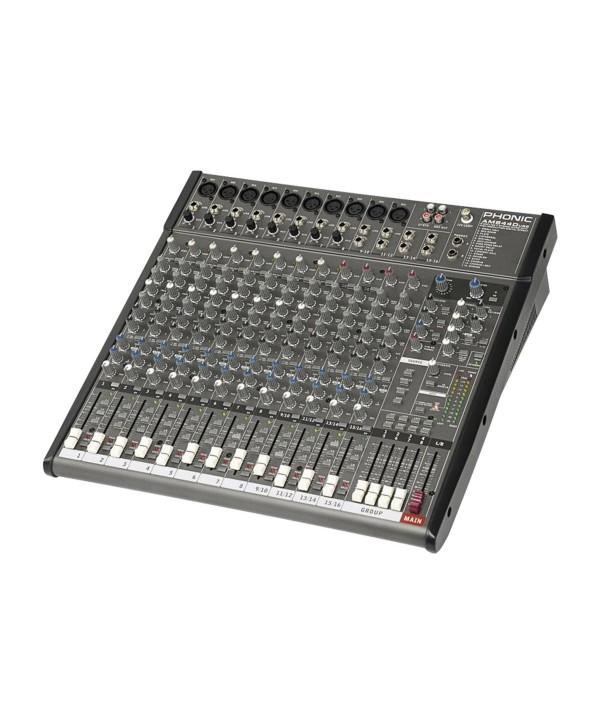 Phonic AM 844D USB Console de Mixage Analogique 12voies