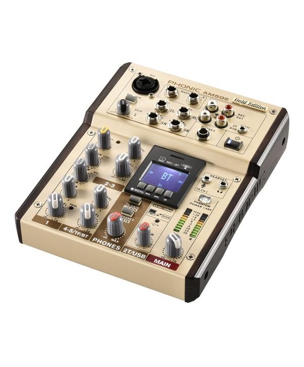 Phonic AM5GE Console de Mixage Analogique 5voies