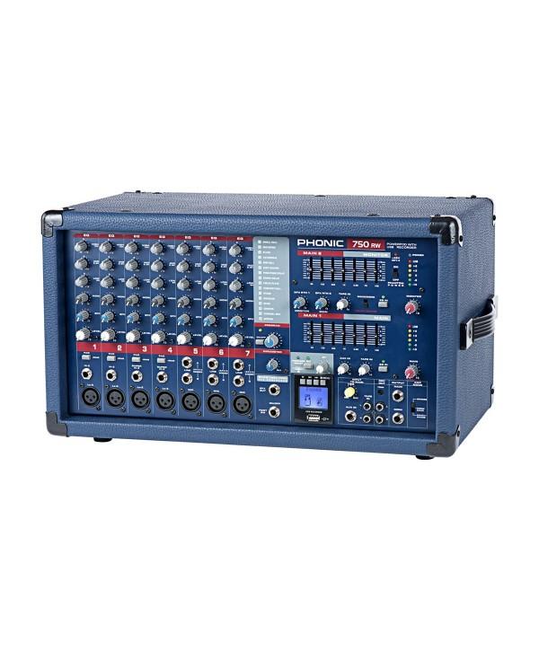 Phonic Powerpod 750RW Console de Mixage Amplifiée 7voies