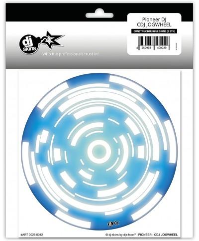 Dj Skins Pioneer DJ CDJ JOGWHEEL CONSTRUCTOR BLUE Skins la paire