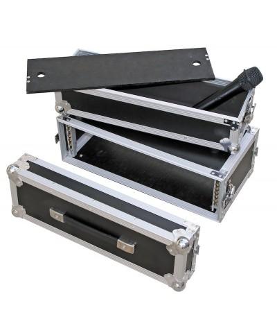 Flight Case Pour Récepteur Micro HF MICRO CASE Rack 3U