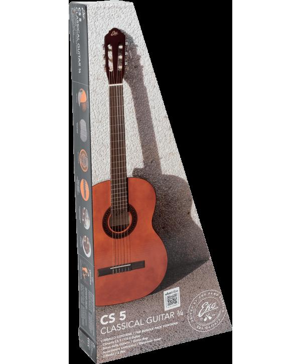 Eko GEC CS5-PACK Guitare Classique Studio 3/4 Pack Natural