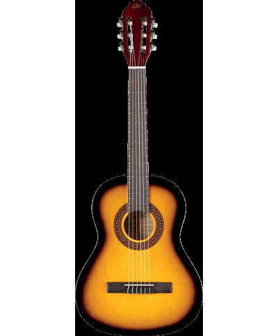 Eko GEC CS5-SB Guitare Classique Studio 3/4 Sunburst