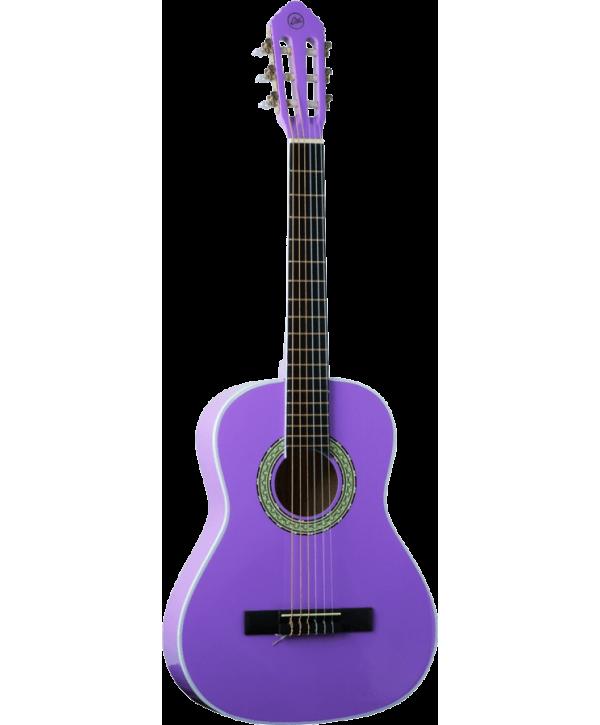 Eko GEC CS5-VIO Guitare Classique Studio 3/4 Violet
