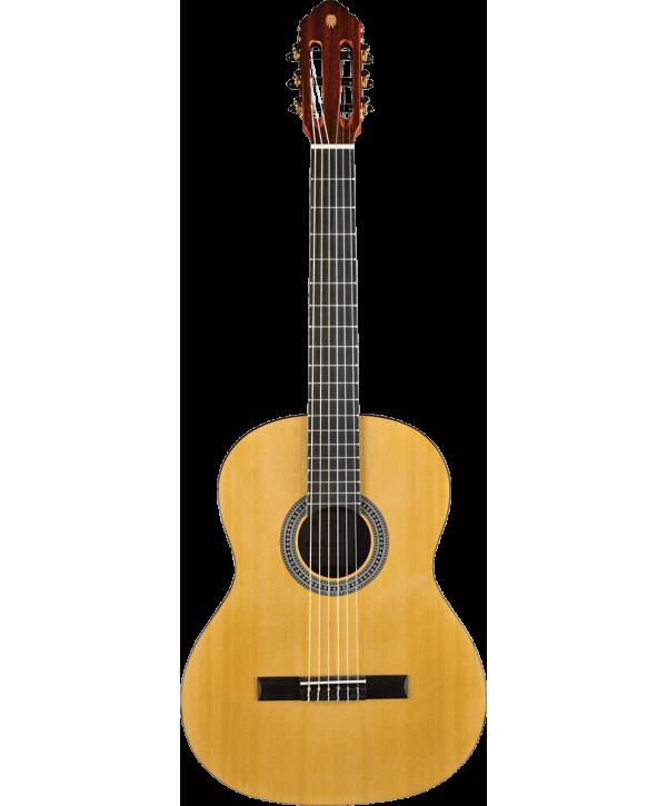 Eko GEC VIBRA100 Guitare Classique Vibra 4/4 Natural table en cèdre